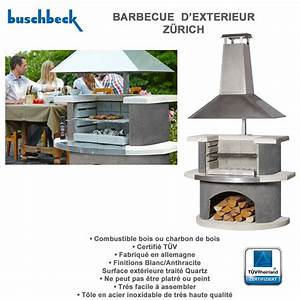barbecue en pierre zurich 102557 buschbeck With barbecue exterieur en pierre