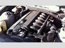 BMW E36 323i ENGINE SOUND YouTube