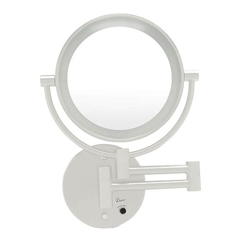 zadro led lighted wall mount mirror 1x 5x model no