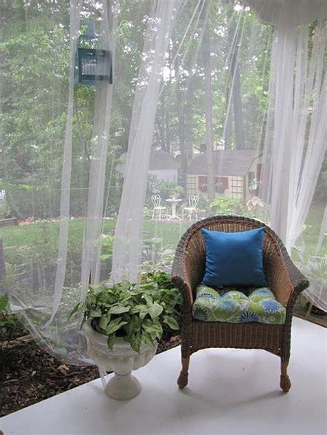 mosquito net ideas improving porch decorating