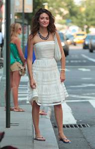Nothing Shameless about her fashion sense! Emmy Rossum ...