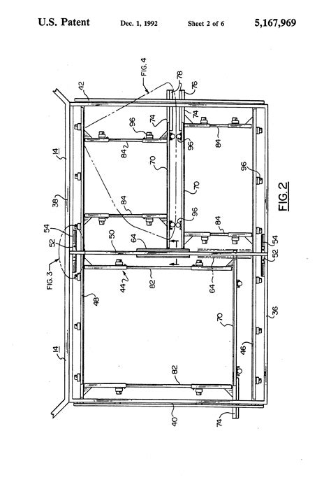 Patent US5167969 - Split frame for rotary vacuum mold unit