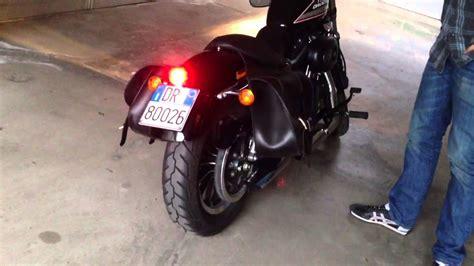 drag specialties custom bobber led tail light youtube