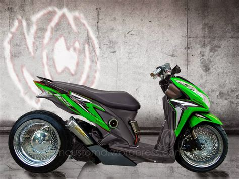 Honda Vario 150 Backgrounds by Modifikasi Honda Vario Techno Drag Thecitycyclist