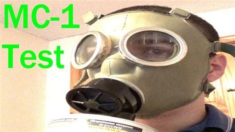 polish mc  gas mask review  test youtube
