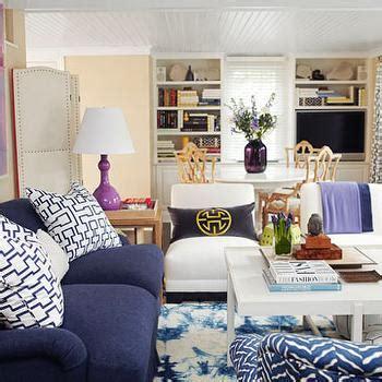 Navy Sofa Living Room by Navy Blue Sofa Design Ideas