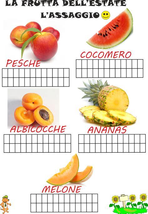 scuola  poldo la frutta dellestate