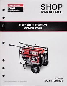 Honda Ew140 Ew171 Generator Service Repair Shop Manual