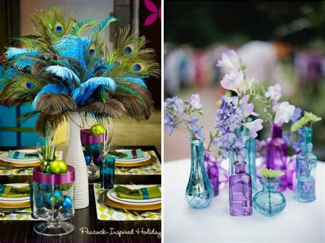 Peacock Decorations For Home: Peacock Wedding Dress And Ideas For Decor