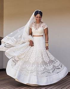 Did you know white lehengas are totally trending? Check