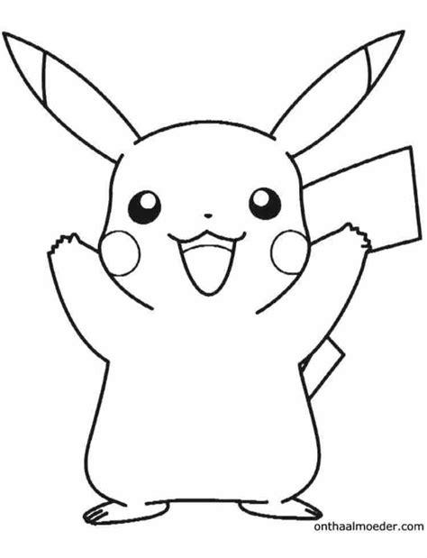 Kleurplaat Pikatcu by Pikachu Kleurplaat Sensational 6 Pok 233 Mon