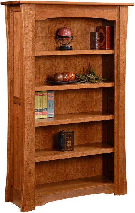 Hardwood Bookshelf by Jamestown Hardwood Bookcase Amish Custom Bookcase