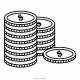 Coins Coloring Pages Ultracoloringpages sketch template