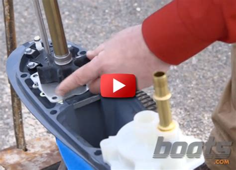 What Is An Impeller On A Boat Motor by 187 How To Change An Outboard Engine Water Impeller
