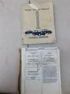 1992 Ford Explorer Ranger Aerostar Dealership Service