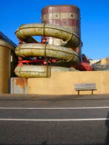 Pipes  King Alfred Leisure Centre  C  Simon Carey