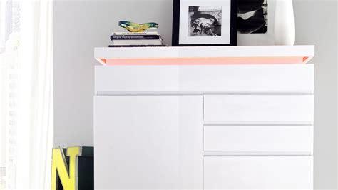 kommode mit beleuchtung kommode highboard wei 223 lackiert mit beleuchtung