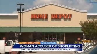 home depot garner video shows suspected shoplifter tackled to the ground by a home depot security guard daily