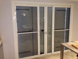 Baie Vitree A Galandage 2 Vantaux : baie coulissante 3 vantaux ~ Edinachiropracticcenter.com Idées de Décoration