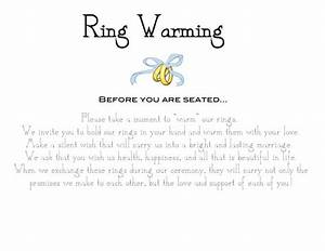 ring warming ceremony sign weddingbee photo gallery With wedding ring ceremony speech