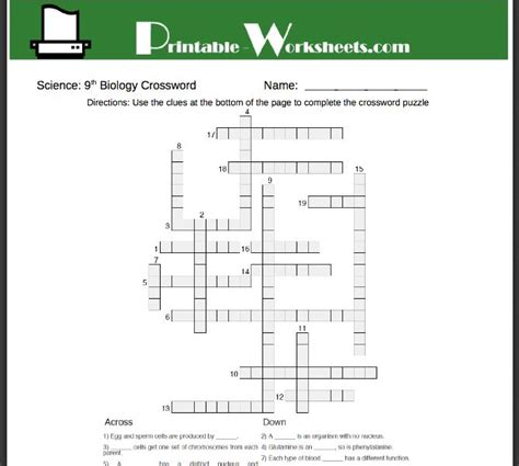 All Worksheets » Biology Worksheets For Grade 8  Printable Worksheets Guide For Children And