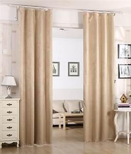 Oeillet De Rideau : 1 rideau occultant oeillets rideau thermique isolant ~ Premium-room.com Idées de Décoration
