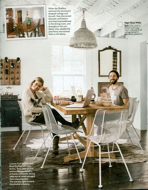 country living september  leanne ford shaffer  brad