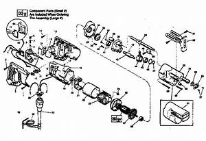 Milwaukee 6507 Type I Power Saw Parts
