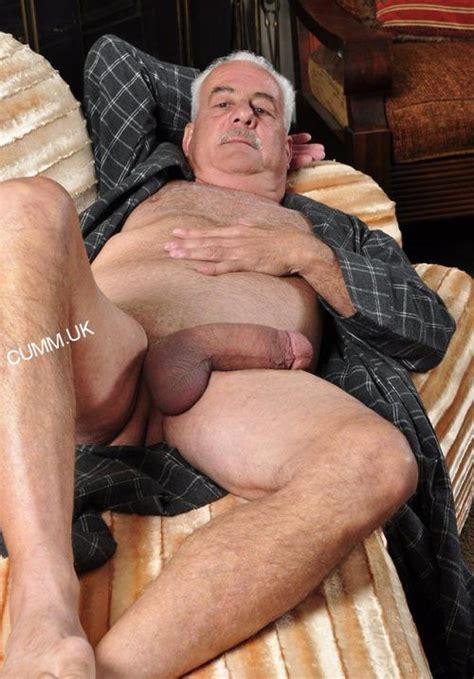 old man mature silver daddy big cock cumm uk