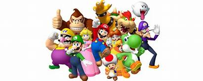 Mario Nintendo Characters Bros Clipart Character Support