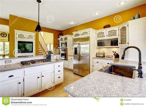 interiors cuisine interior de la casa de la granja interior de lujo