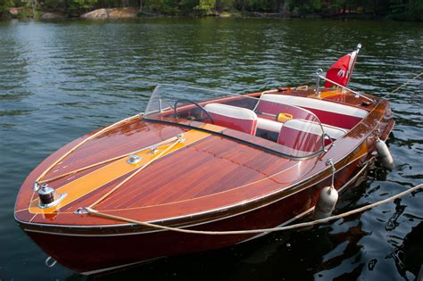 Manatee Runabout Boat by Wooden Boats General