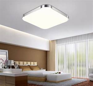 Ultra thin flush mount led ceiling lights recessed