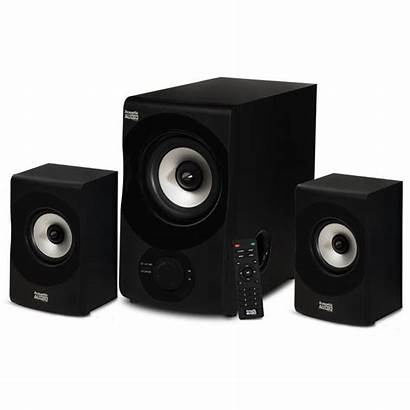 Audio Acoustic Speaker Bluetooth System Pc Multimedia