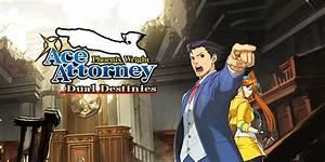 Phoenix Wright Ace Attorney Dual Destinies Nintendo