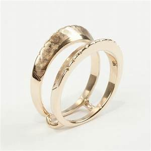 unique 14k yellow gold etched wedding ring jacket With wedding ring jackets