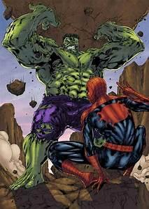 8 best images about Hulk vs. spiderman on Pinterest ...