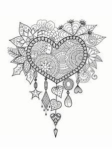 Dessin Saint Valentin : coloriage saint valentin 40 dessins imprimer gratuitement ~ Melissatoandfro.com Idées de Décoration