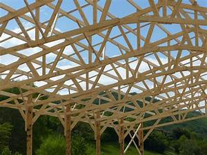 Ferme De Charpente : charpente hangar bois photo gratuite sur pixabay ~ Melissatoandfro.com Idées de Décoration