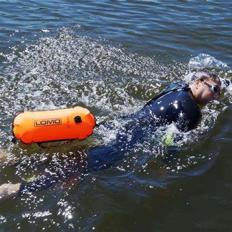 Swimming Tow Float - Orange
