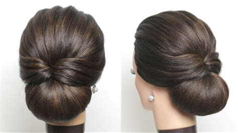 New Simple Hairstyles For new simple bridal hairstyle for hair easy wedding