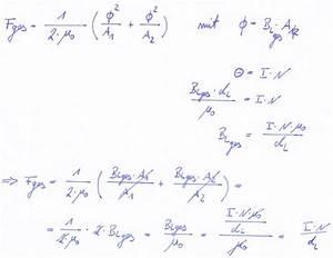 Energiedichte Berechnen : formelherleitung f r kraft auf joch ~ Themetempest.com Abrechnung