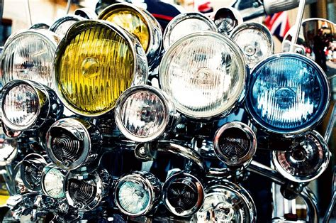 New Led Headlight For All Types Of Motorcycle!