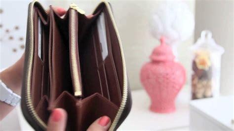 louis vuitton zippy wallet monogram review youtube