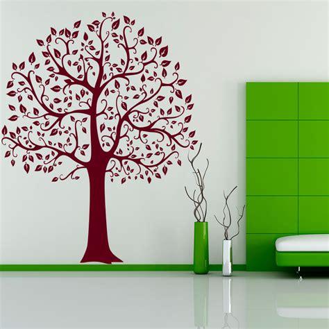 wandtattoo baum linde tree laub blaetter natur xxl