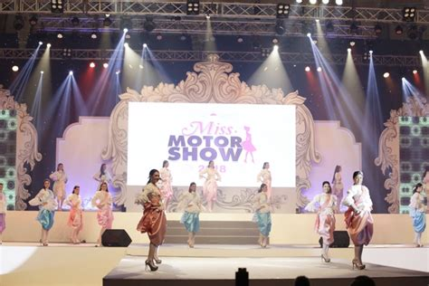สวยครบเครื่อง! 'ฝาง-ศุลีพร' คว้ามงกุฎ Miss Motor Show 2018