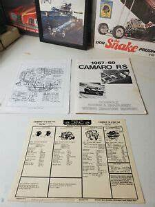 1968 Camaro Console Gauges Wiring Diagram
