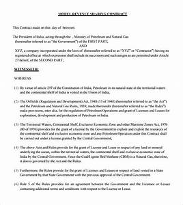 Profit sharing agreement 9 free samples examples format for Profit share agreement template