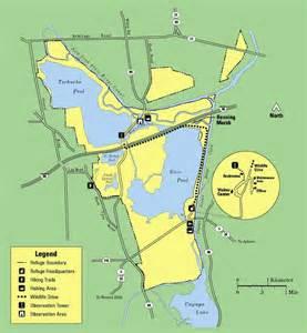 Montezuma National Wildlife Refuge Map