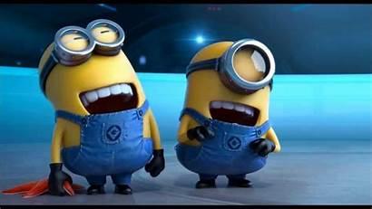 Laugh Minion Minions Despicable Bottom Scene Friendship